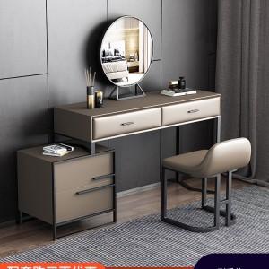 西嘉图意式极简梳妆台卧室现代简约小户型带伸缩化妆台网红化妆桌