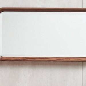 紫孔雀现代简约北欧风实木妆镜卧室