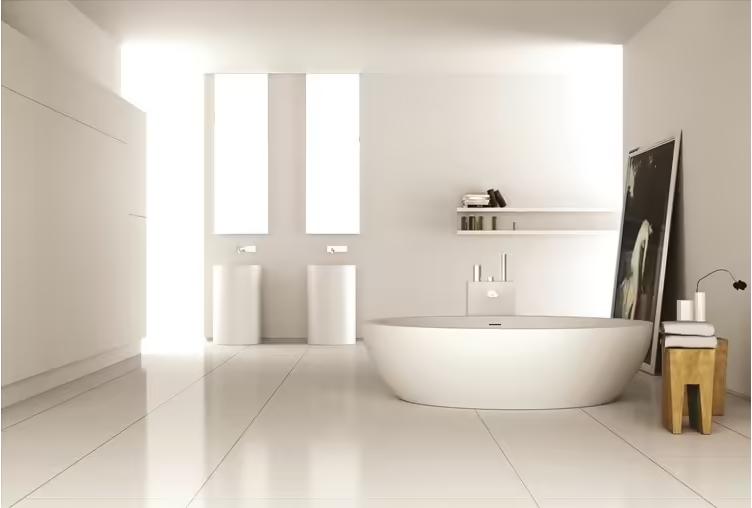 美丽的浴室/浴室元素由米兰的独家制造公司——MOMA 设计