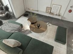 现代 木璞空间设计,沉稳的绿色是生活的开始